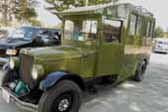 1929 REO Camping truck has overall shape similar to a 1928-1931 Ford Model-A postal truck
