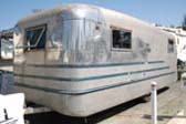 Model 1945-1 Spartan Manor Silver Queen, First Spartan Trailer Ever Made!