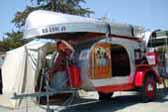 Beautiful 1947 Kenskill Tear Drop Trailer Ready For Camping