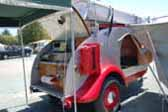 1947 Kenskill Tear drop Trailer With Camping Equipment
