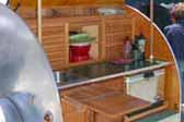 Restored 1947 Kit Teardrop Trailer With Professional Cabinets and Woodwork