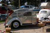 Cool Retro 1947 Teardrop Trailer With VW Bug Windows and Running Boards