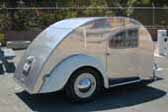 Classic 1947 Teardrop Trailer With Volkswagen Bug Fenders & Tail Lights