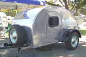 Nicely Restored Classic 1947 Teardrop Trailer
