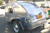 Classic 1947 Teardrop Trailer With Beautiful Aluminum Skins