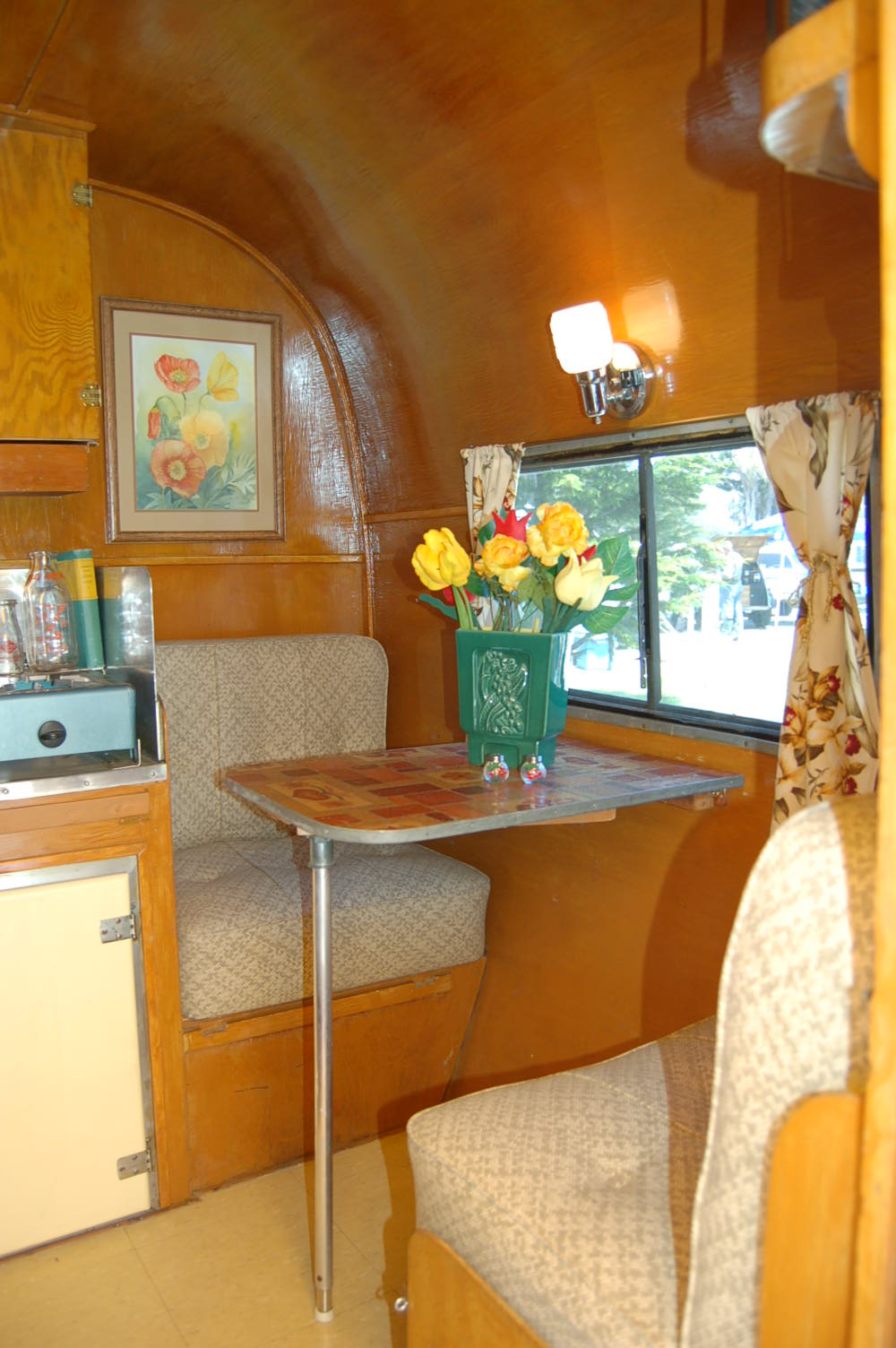 Birch vintage trailer interiors