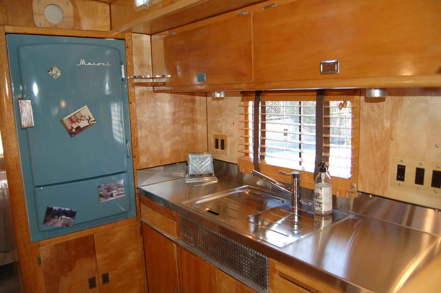 vintage trailer interiors from the 1940 u0027s from oldtrailer com