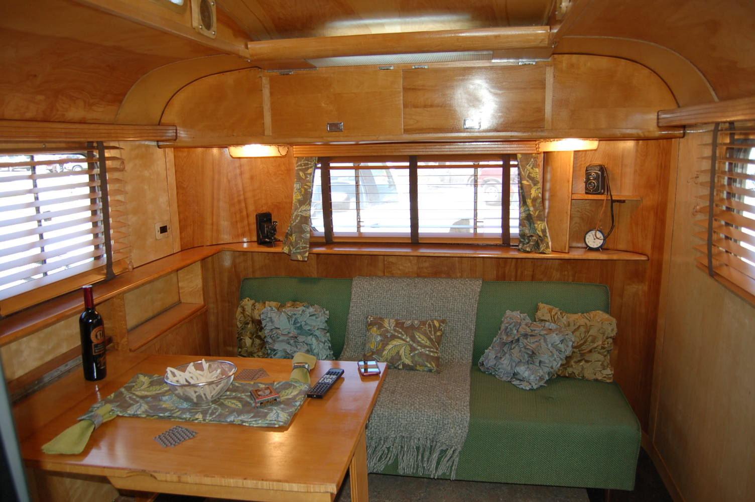 Vintage Trailer Interiors From The 1940 S From Oldtrailer Com