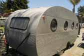 Un-restored 1949 Airfloat Skipper vintage travel trailer