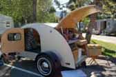 1949 Hunter Teardrop trailer, perfectly restored