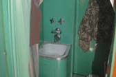 Picture of Very Cool Vintage Bathroom in 1951 Spartanette Tandem Trailer