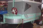 1951 Tent Trailer With Great Retro Style and Details, Built By The Owner