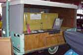 Rare Vintage Tent Trailer Custom Built by Owner in 1951