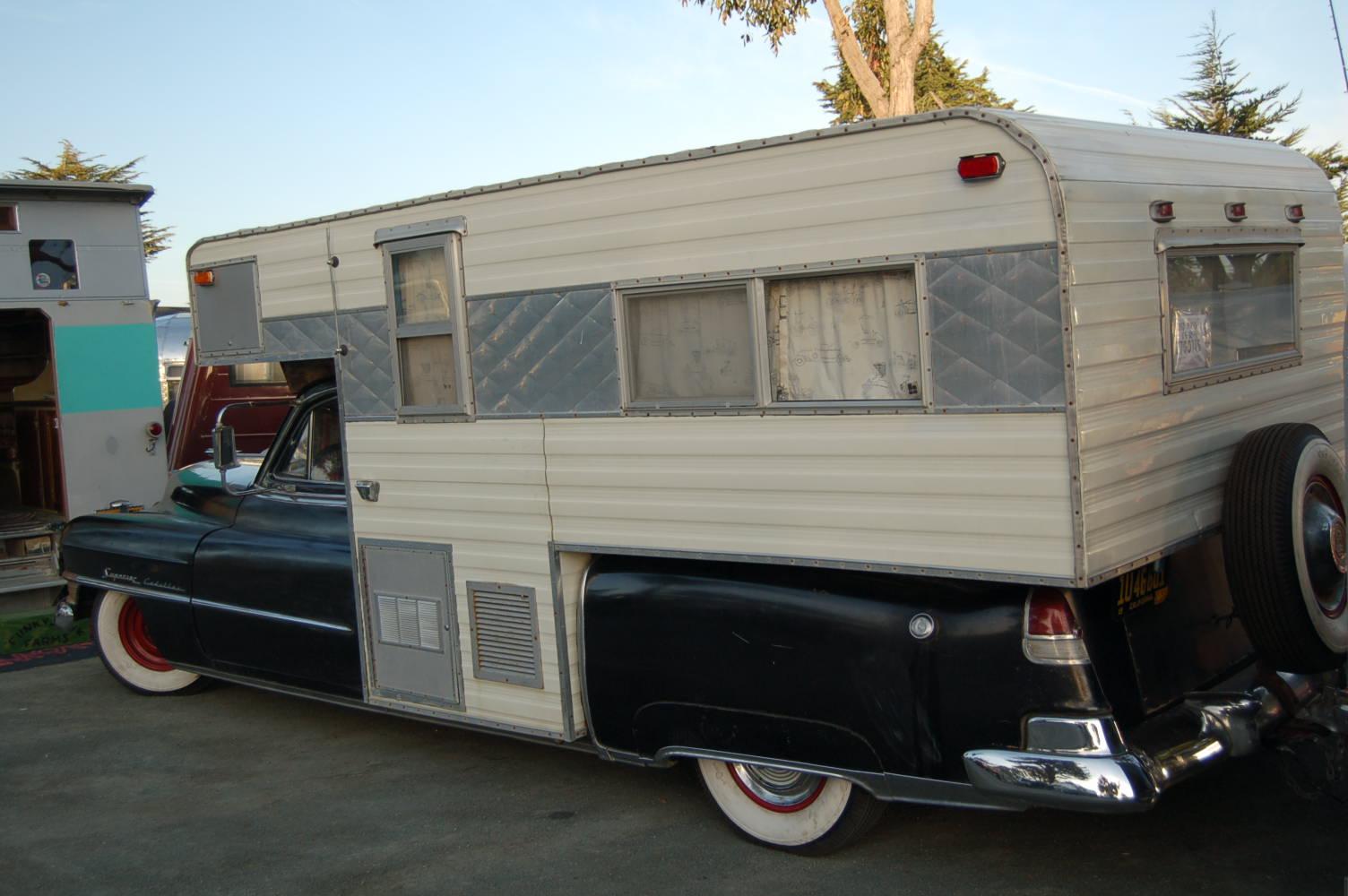 Vintage Truck Based Camper Trailers