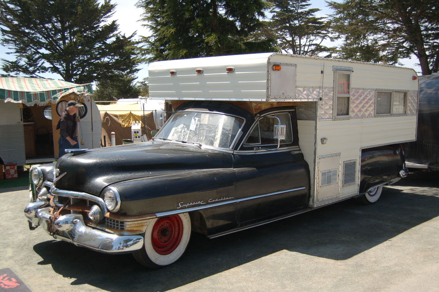 Vintage Truck-Based Trailer Campers, from OldTrailer.com