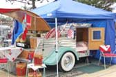 Vintage 1953 Boost Teardrop Trailer With All The Accessories