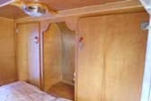1953 Boost Teardrop Trailer With Original Wood Cabinets and Hardware