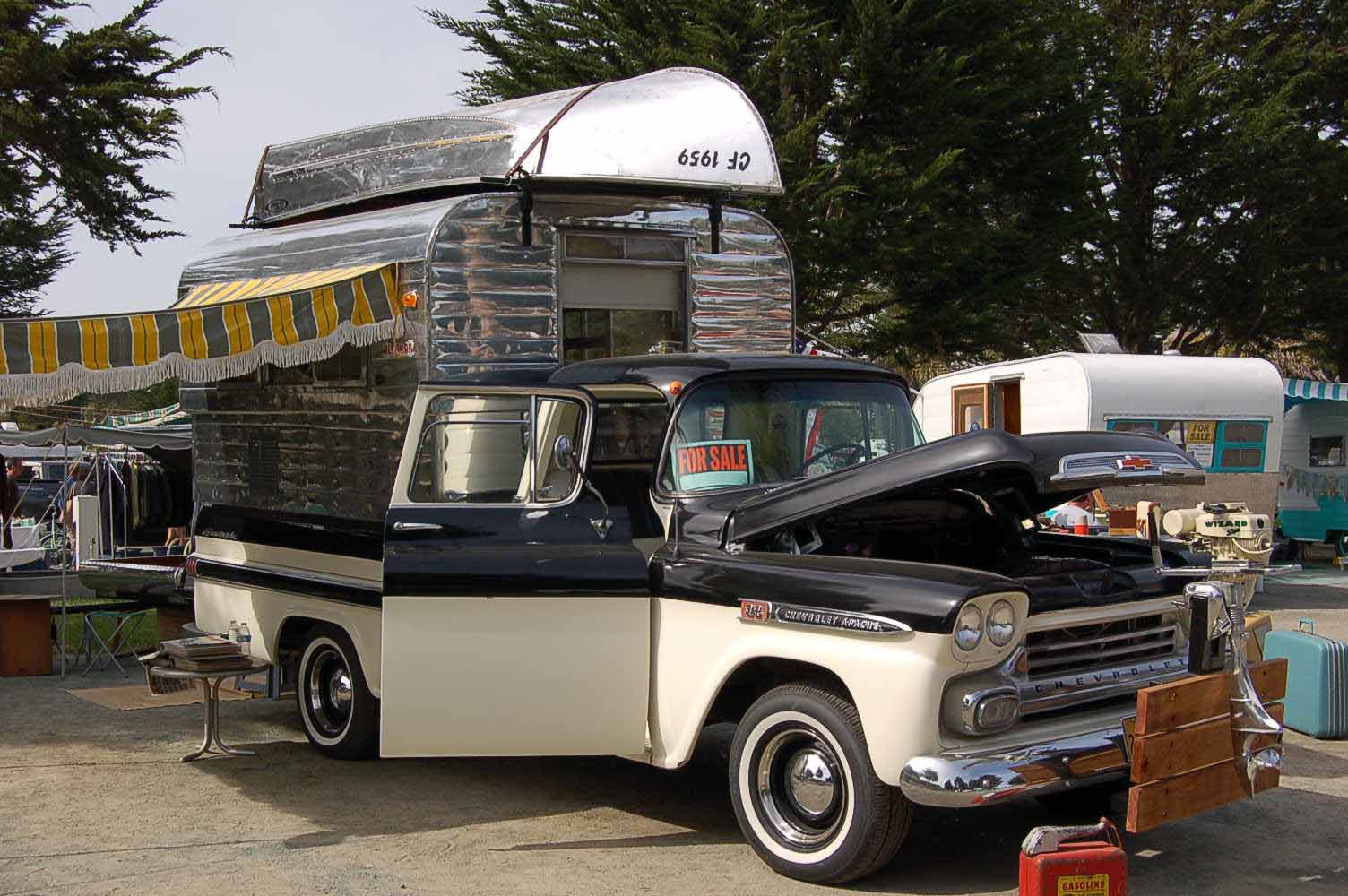 Truck camper shells, Truck camper and Vintage trucks on ...