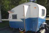 Popular 1959 Shasta Compact Trailer Travel Trailer