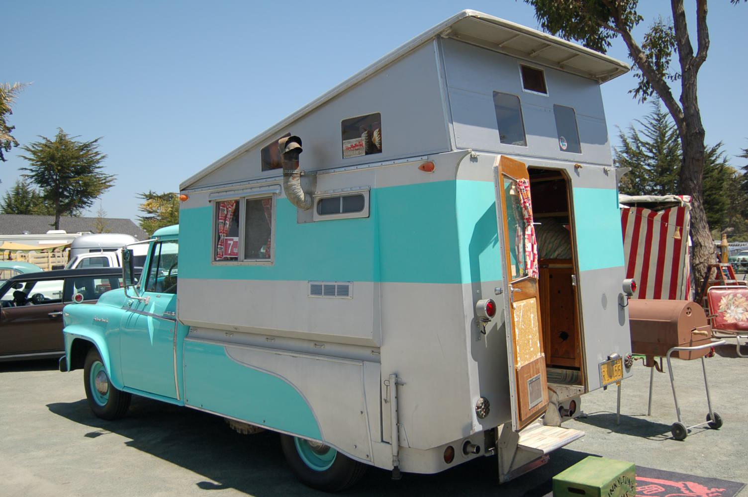 Vintage Truck Based Camper Trailers From Oldtrailer Com