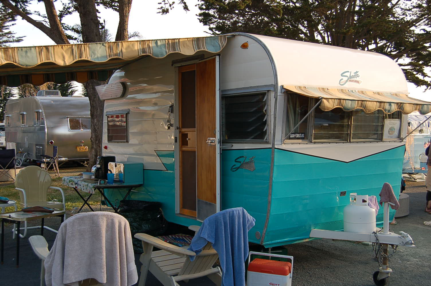 how to clean caravan canvas awnings