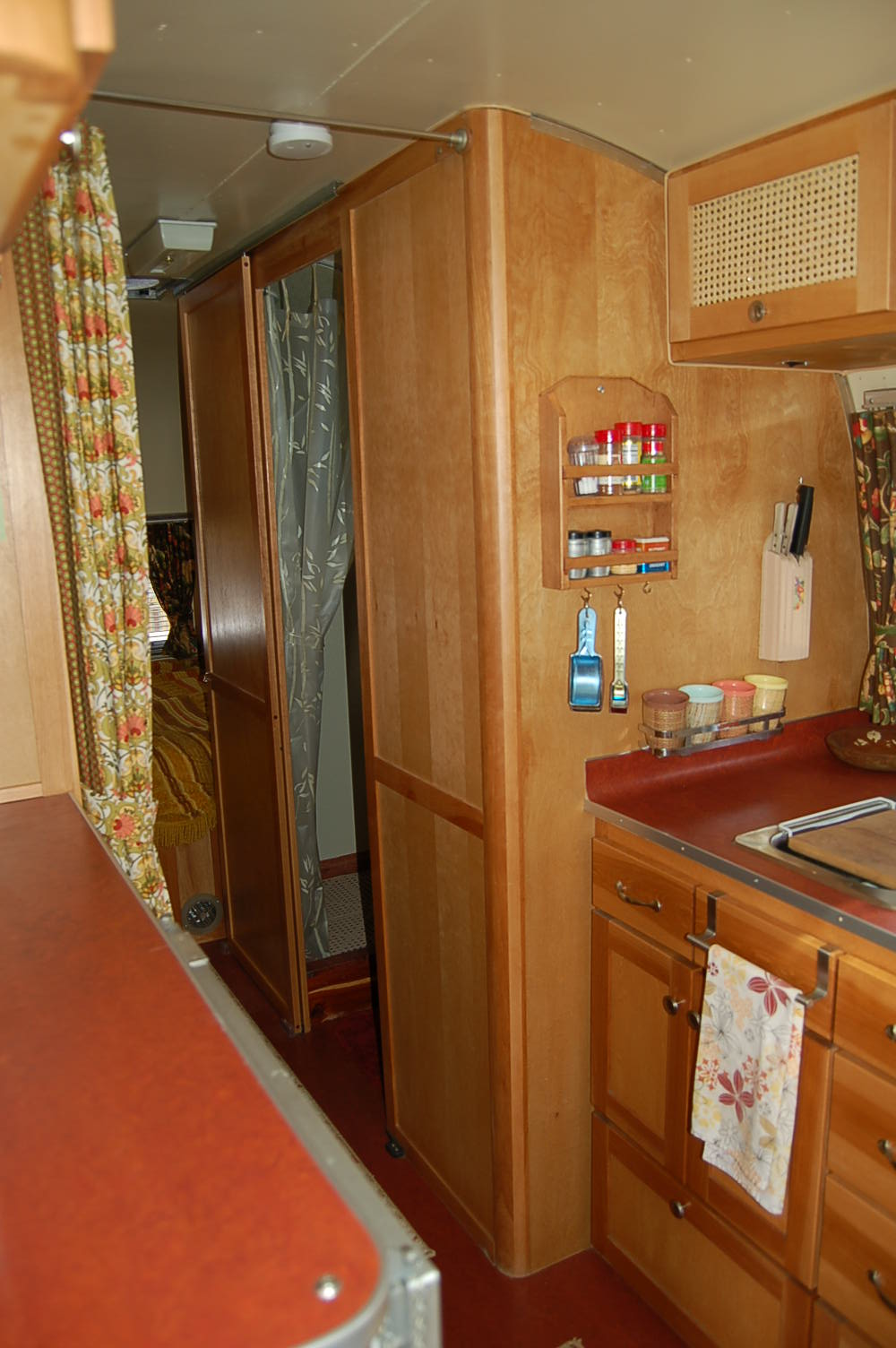 Vintage Airstream Trailer Interiors, from OldTrailer com