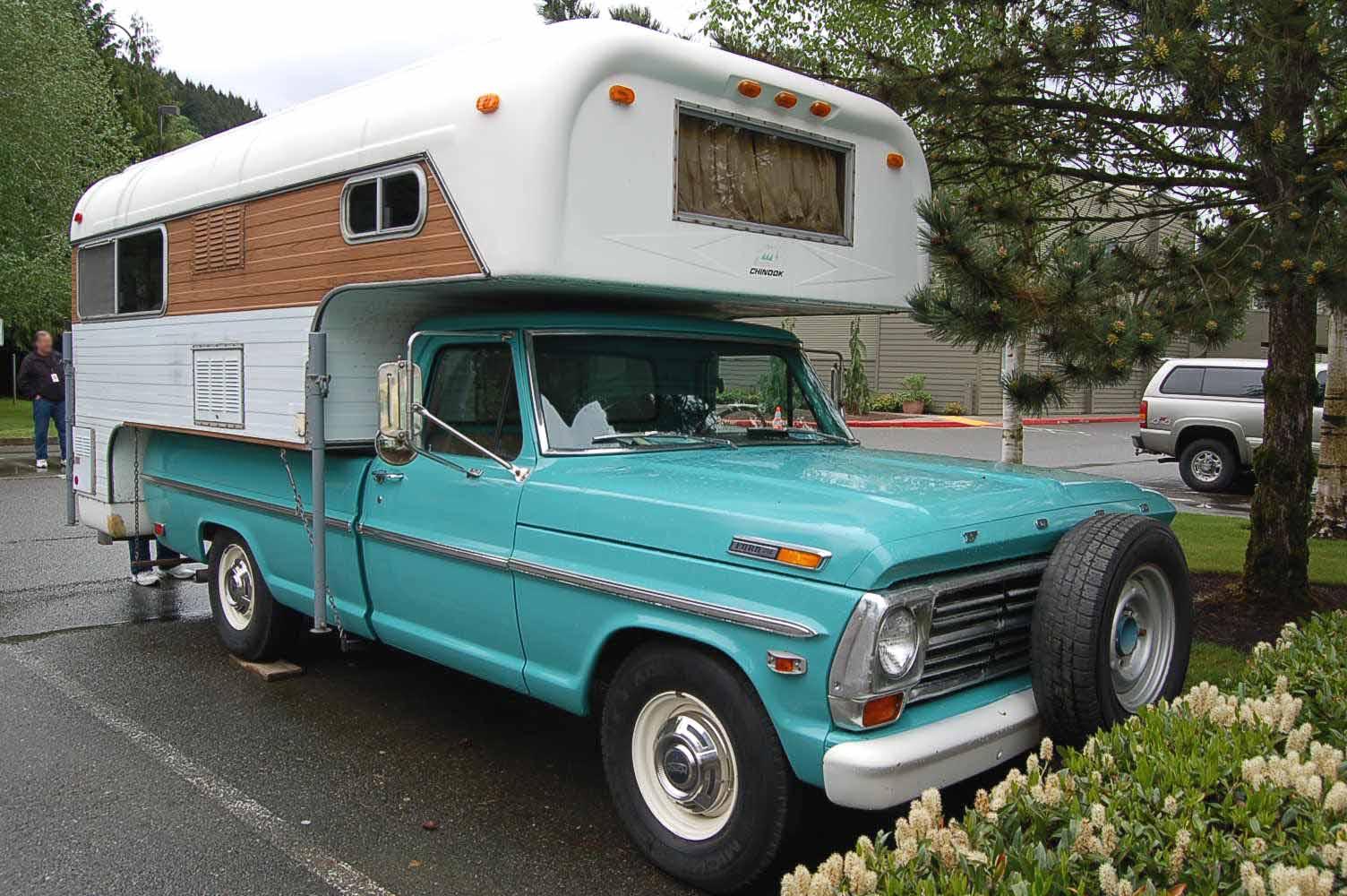 Vintage Truck Based Camper Trailers, from OldTrailer.com