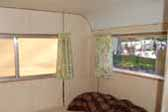 Clean, original interior panels in 1972 Little Scamp travel trailer