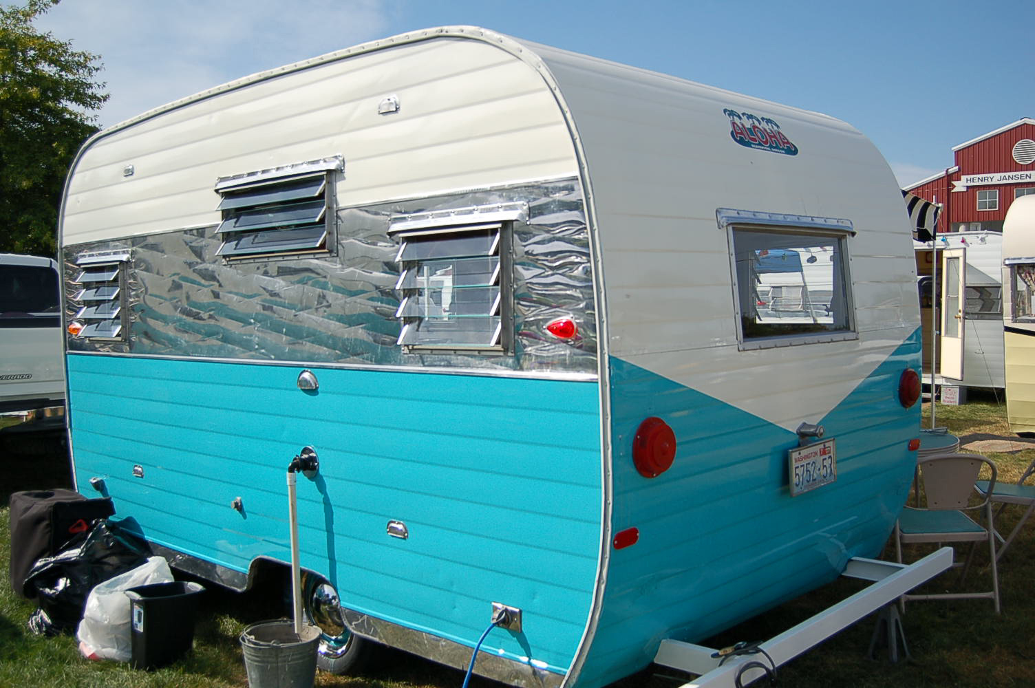 Painting Aluminum Siding On Travel Trailer
