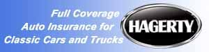 Reasonably priced and reliable classic car insurance for your vintage auto, truck, RV or boat