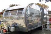 Highly Polished Spartanette Manor Vintage Trailer