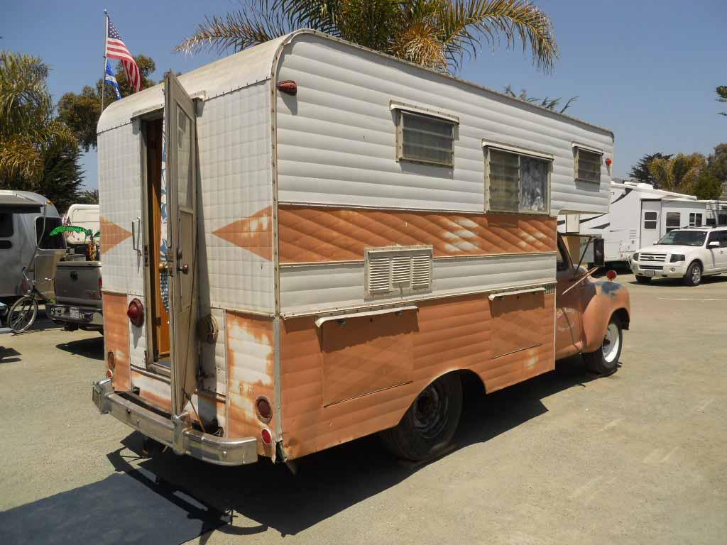 Vintage Truck Based Camper Trailers, from OldTrailer com