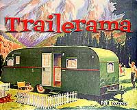 Vintage trailer books about camping recipes, campground guidebooks, camping with dogs, vintage trailer restoration