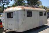 Original Westcraft Trolley Top vintage trailer is available for restoration