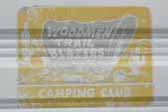 Original decal from the Woodmen Trailblazers camping club